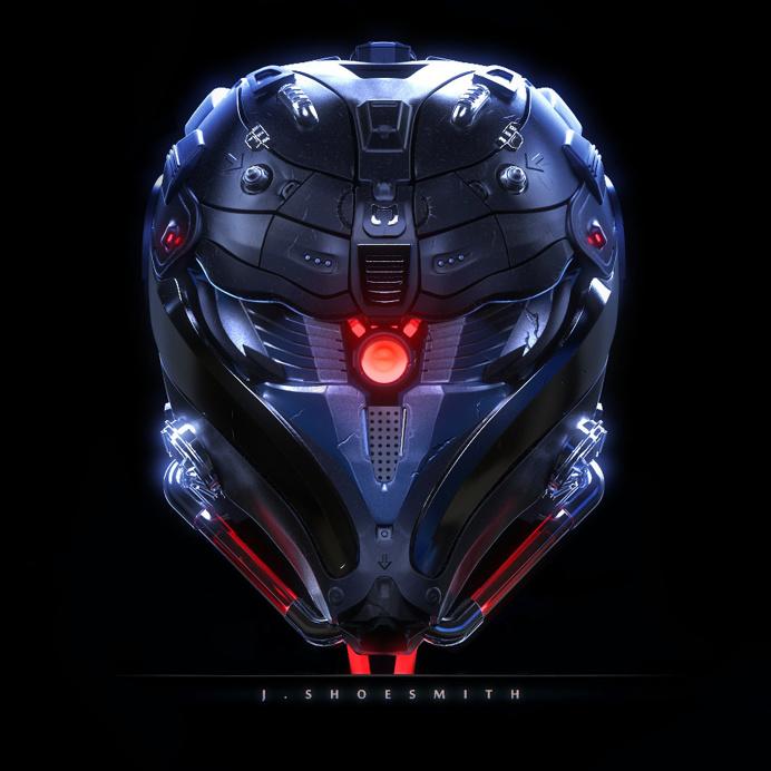 The Head by Jon Shoesmith | Robotic/Cyborg | 3D | CGSociety
