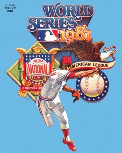 World Series - Chris Creamer's Sports Logos Page - SportsLogos.Net #baseball #1981 #vintage
