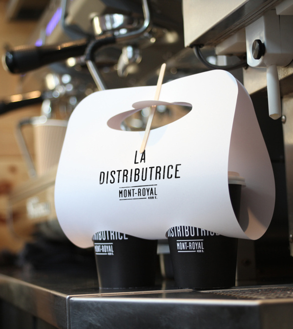 Smallest cafe place in North America, visual identity #inspiration #design #brand #package #typography