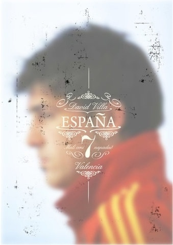 FFFFOUND! | Sucker for Soccer on the Behance Network #espana #soccer #spanish #distressed #football #overlay #typography