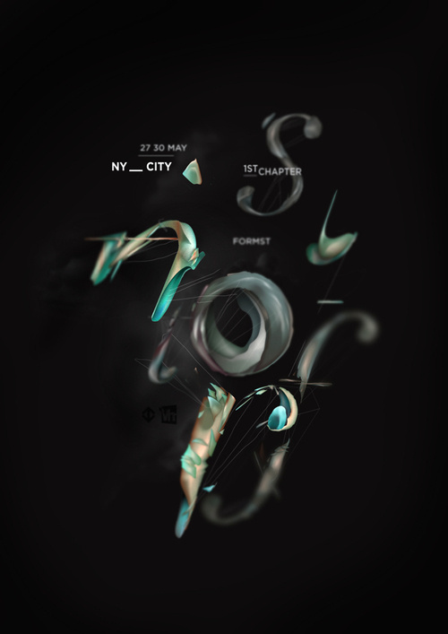 NYC Formst is the first chapter of an experimental typographic project.nIt is an antropomorphical approach to a typography based essay on #design #poster