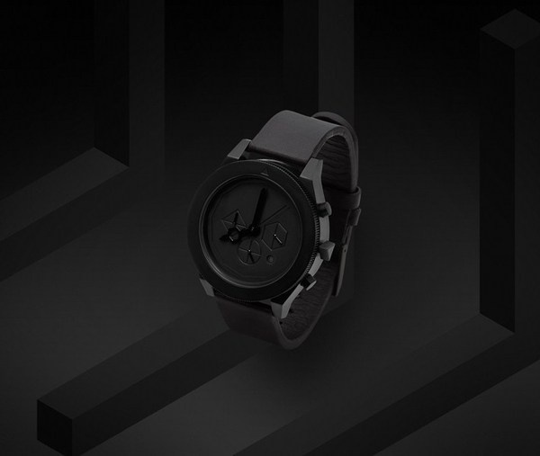 AÃRK Collective | Iconic Graphite #clock #watch