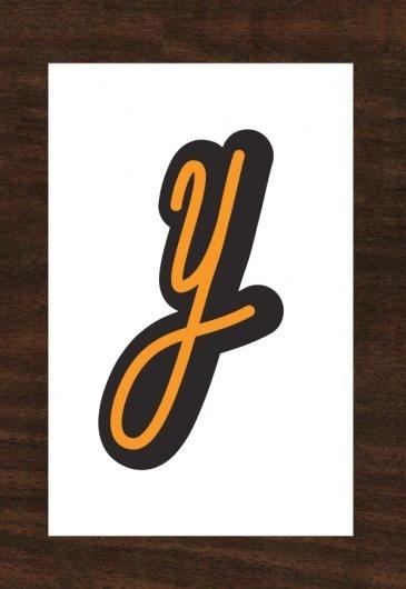 ALPHABATTLE – Y — LetterCult #letter #lettering #typography
