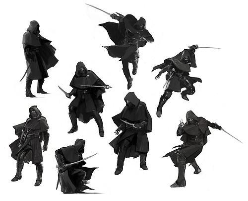 Concept Poses #ninja #character #concepts