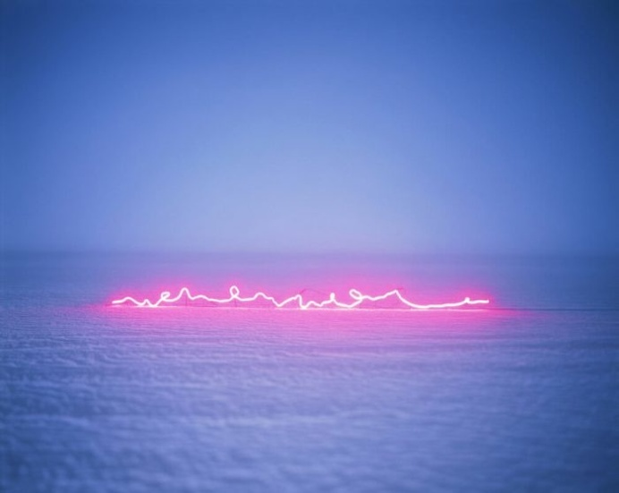 Jung Lee' Abstract Neon Light Letters - FREEYORK