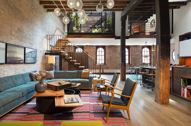Amazing Loft with Rooftop in Manhattan -3 #interior #design #decor #deco #decoration