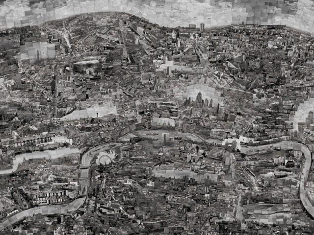 Photo Collage Turned into Citymaps – Fubiz™ #photo