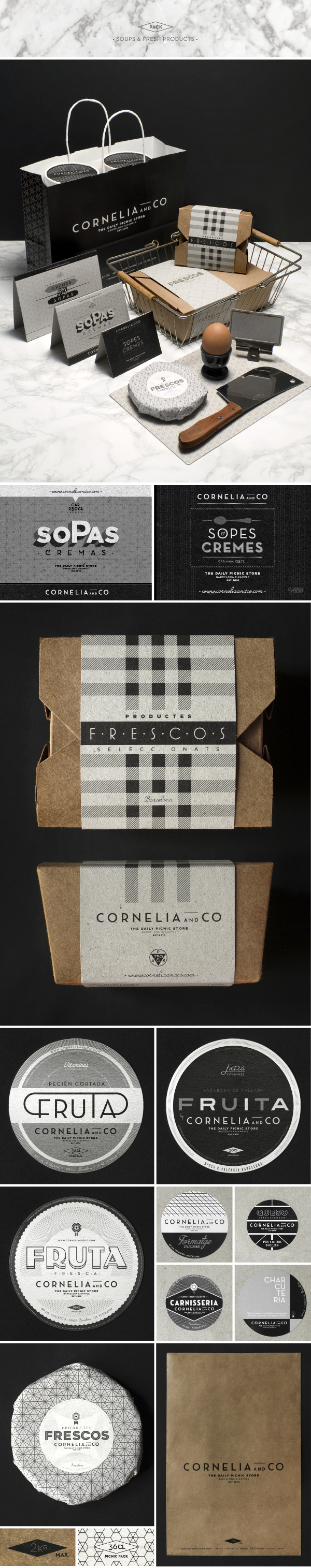 CORNELIA and CO [ Brand identity & Packaging ] #packaging #food