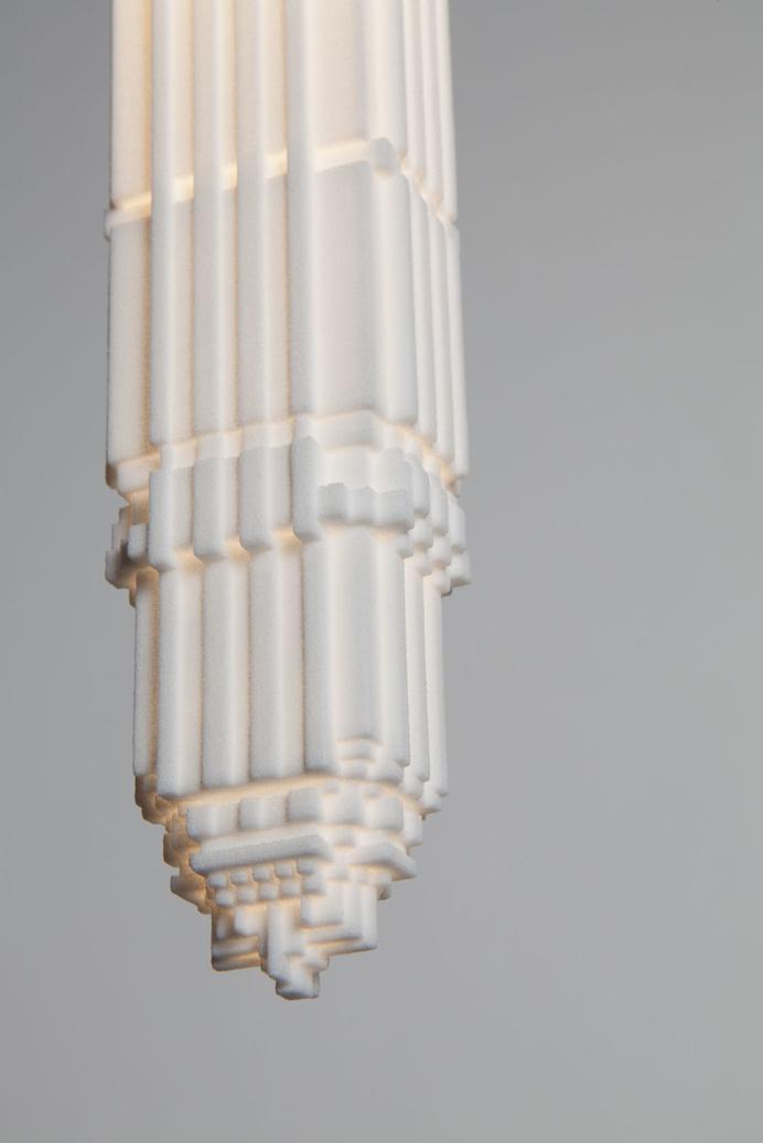 3D Printed Lightbulbs Shaped Like Skyscrapers