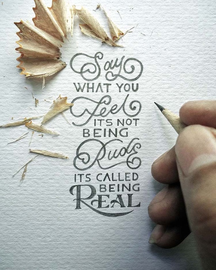 Inspirational Miniature Calligraphy by Dexa Muamar