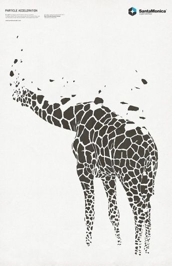 Changethethought™ | SantaMonica Barcelona #giraffe #barcelona #santamonica