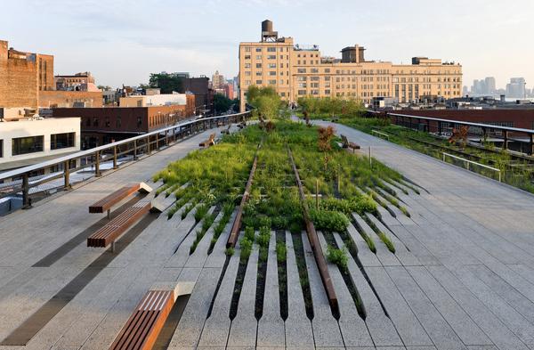CJWHO ™ (The High Line, Manhattan, New York The High Line...) #green #amazing #line #garden #design #landscape #park #manhatten #architecture #york #high #new