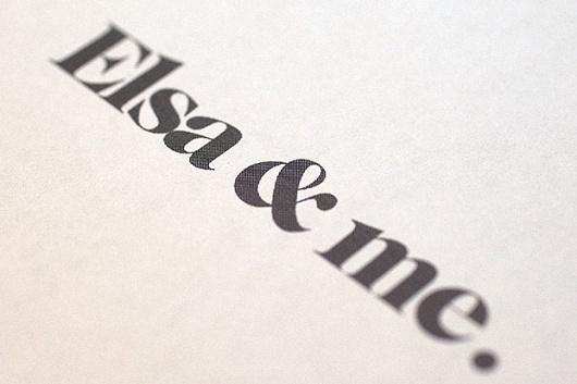 Elsa + Me rebrand - Erik Jonsson #logo