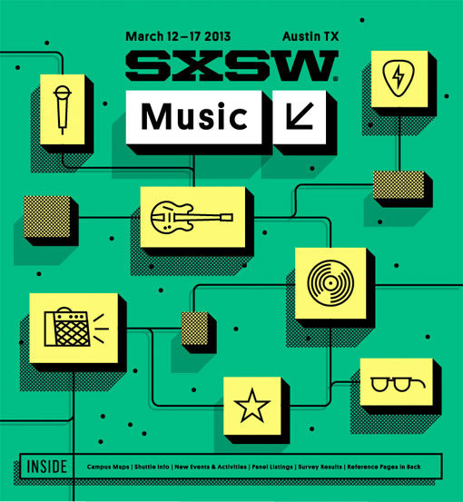 SXSW2013b_ProgramCover_Music_750 #illustration