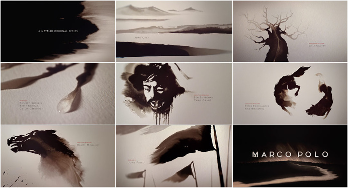 #marco #polo #netflix #title #sequence