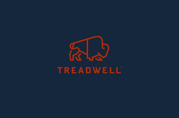 Treadwell logo design by Perky Bros #logo
