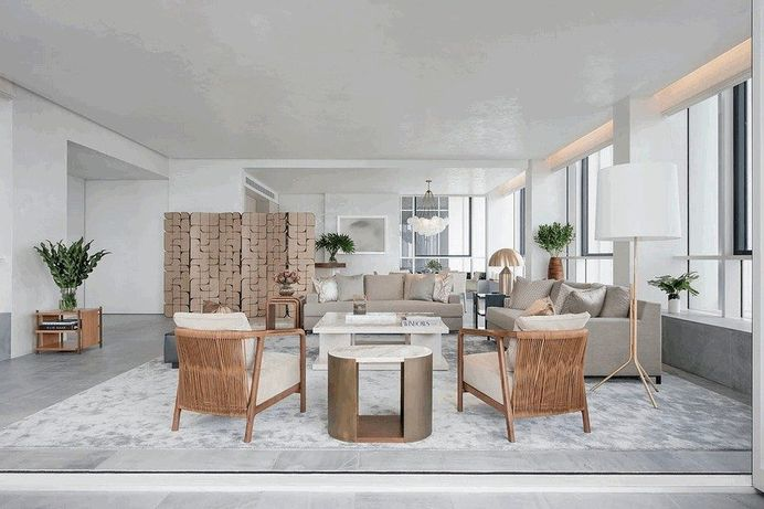 Le Nouvel Ardmore Apartment in Singapore by Brewin Design Office