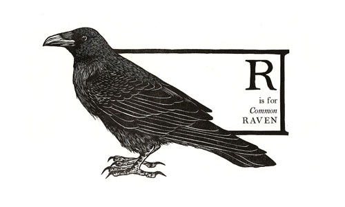 Gallery #woodcut #bowerbox #raven #print #block #press #mica #baltimore #val #lucas