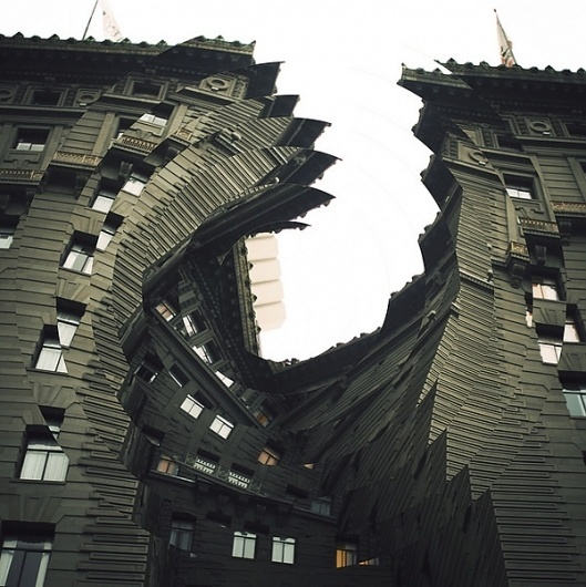 Twisted Architecture by Nicholas Sitton   123 Inspiration #series #twisted #photomanipulation