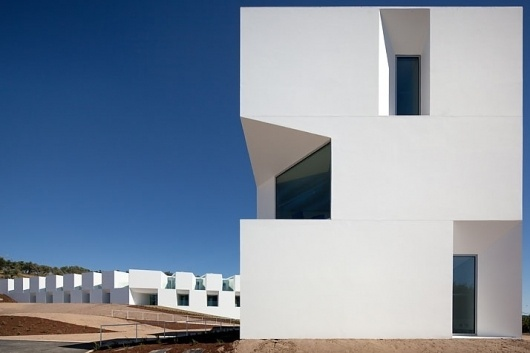 The Nursing home of Aires Mateus Architects through the eyes of Fernando Guerra   Yatzer™ #abstract #facade #modern #architecture #minimalist
