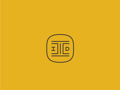 Supposed to be a monogram of Intrinsic Interior Design (IID). #lettering #logo #mark #branding #design #monogram #interior #intrinsic