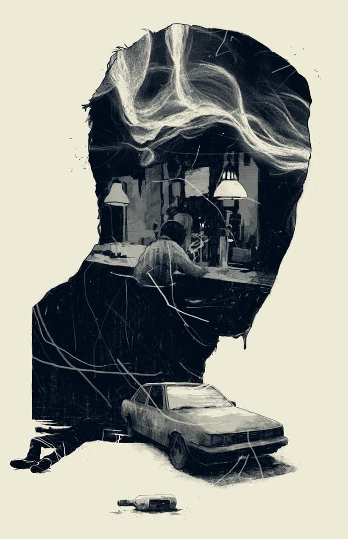 Wonderful Drawing Illustrations by Simon Prades