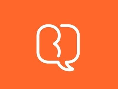 Dribbble - BD Bubble V2 by Michael Spitz #logo #identity