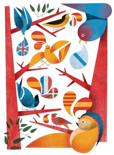 Press & Magazines on Illustration Served #illustration #colors #geometry