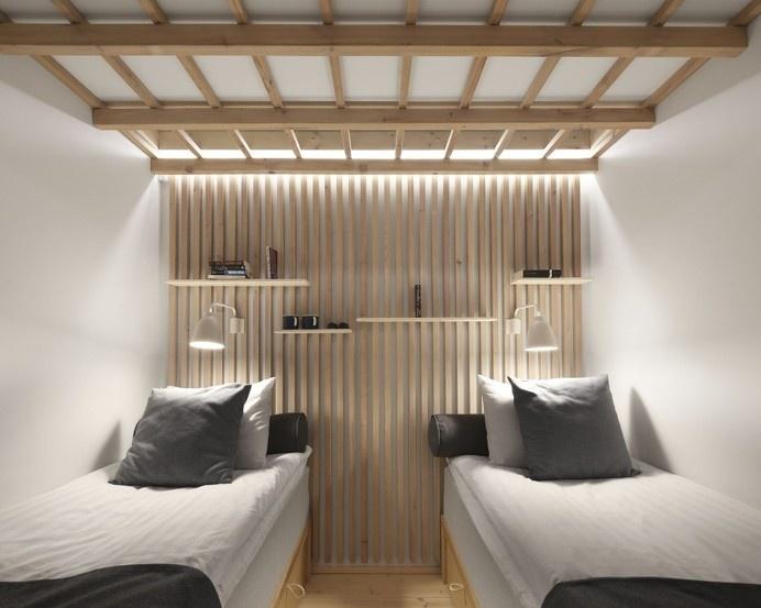 Dream Hotel by Studio Puisto Architects #interior #minimalist #design #minimalism