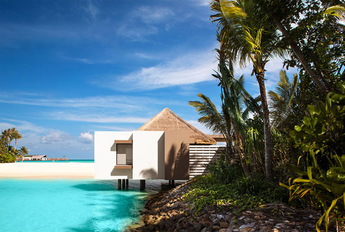 Unique Villas Overlooking the Lagoon - #outdoor, #architecture, #house, #landscaping,