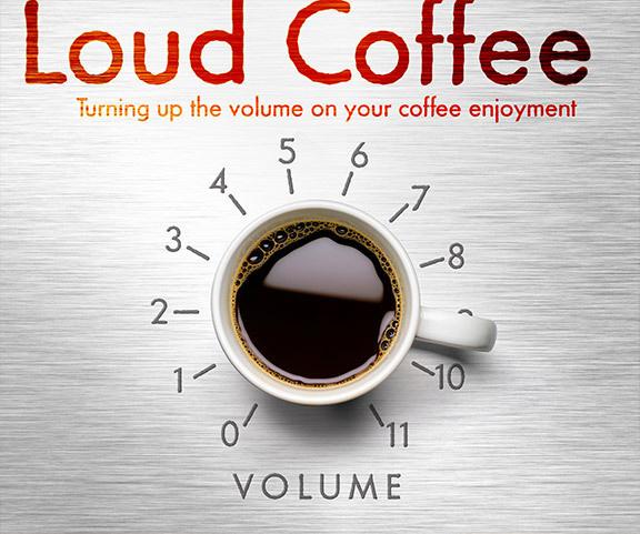 Loud_Coffee Branding #coffee #branding #typography