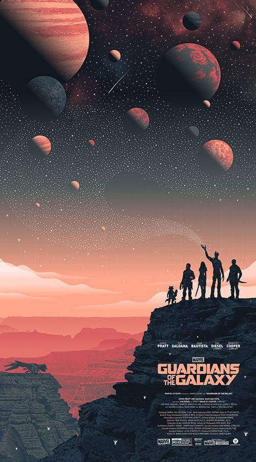 Guardians of the Galaxy – Landscape