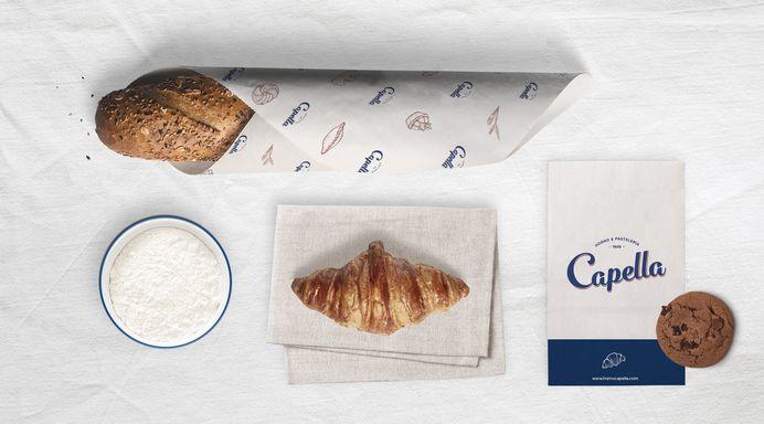 Diseño identidad panadería y pastelería Valencia