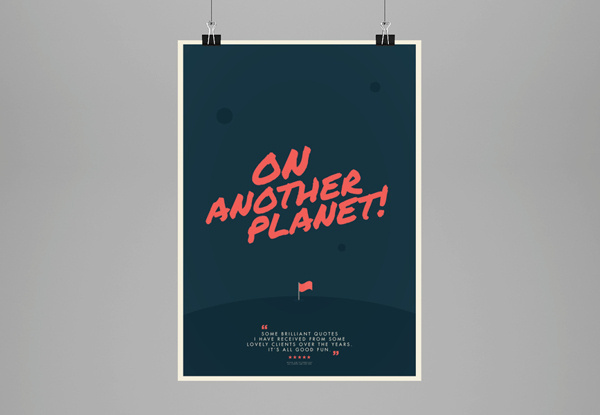 The client is always right... // Poster Collection on Behance #agency #freelance #humour #print #color #vibrant #client #poster #art #clients #typography