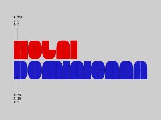 Hola! Dominicana ID on the Behance Network #branding #mexico #dominicana #design #graphic #hola #burocrata #logo