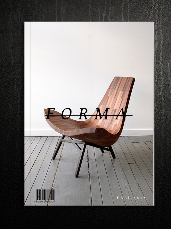 Magazine Cover Study #cover #chair