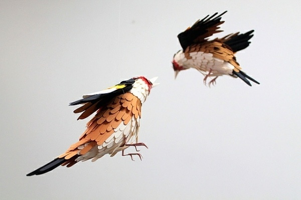 Images We Love — New Paper Birds and Wildlife by Diana Beltran Herrera #crafts #design #paper #art