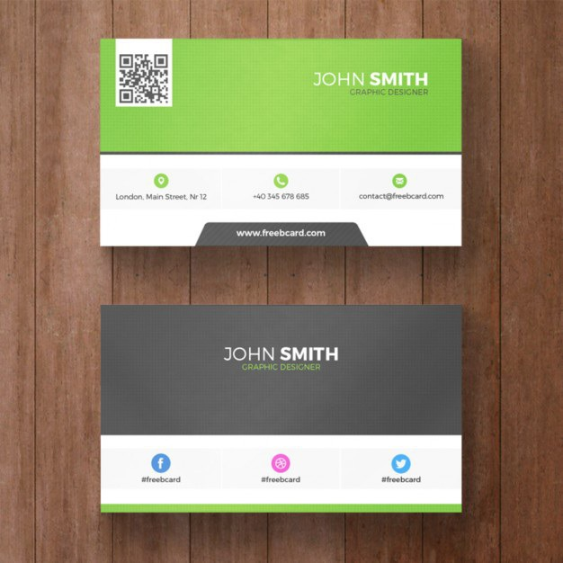 Green business card Free Psd. See more inspiration related to Logo, Business card, Mockup, Business, Abstract, Card, Template, Office, Visiting card, Presentation, Stationery, Corporate, Mock up, Company, Modern, Branding, Visit card, Identity, Brand and Mockup template on Freepik.
