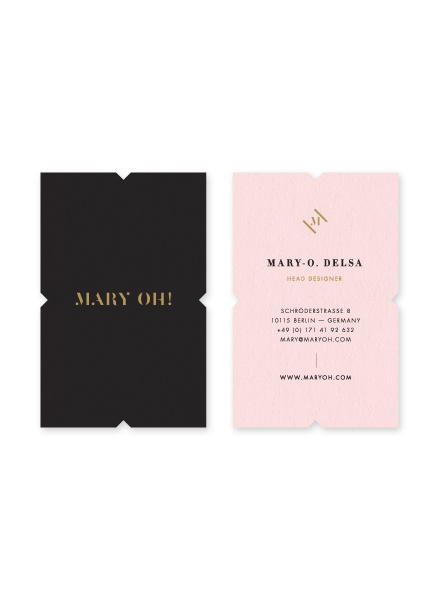 Mary3 #business #branding #design #cards #typography