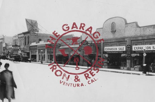 The Garage   www.ironandresin.com #type