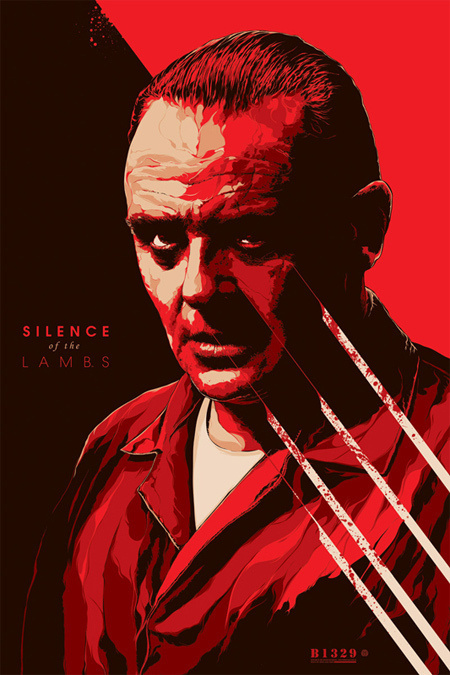 ken taylor #movie #lambs #of #silence #the #illustration #poster
