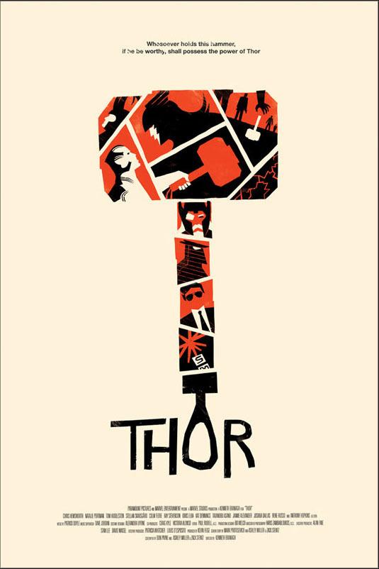 thor poster #movie #cinema #design #poster