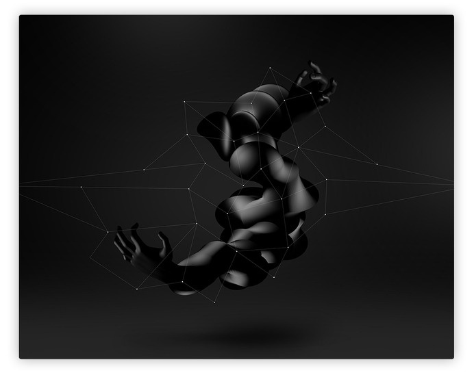 alcalay. art director & digital designer #abstract #black #digital #art #dark #3d