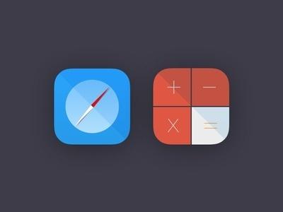 Safari Calculator #icons
