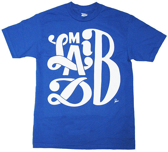 Madlib by Parra: The Shirt. | Stones Throw Records #white #type #shirt #tee #blue #parra