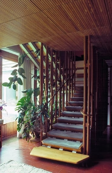 Villa Mairea 1938-1939 / Alvar Aalto #wood #interiors #spaces