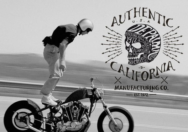 Depalma Clothing by BMD #skull #motorcycle