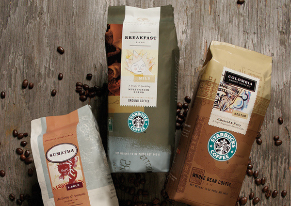 Design ExplorationDesign explorations based on coffee origins #packaging #starbucks #coffee #mint