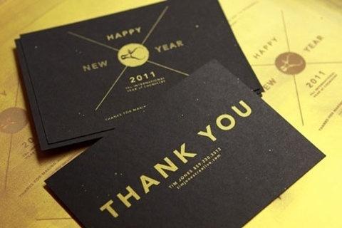 FFFFOUND! | design work life » Tim Jones: 2011 Promotion #2011 #jones #you #tim #thank
