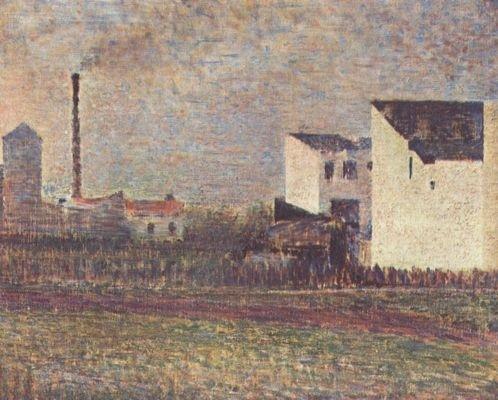 Georges Seurat, Banlieue, 1882